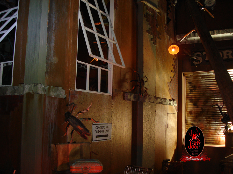 haunted house deals portland